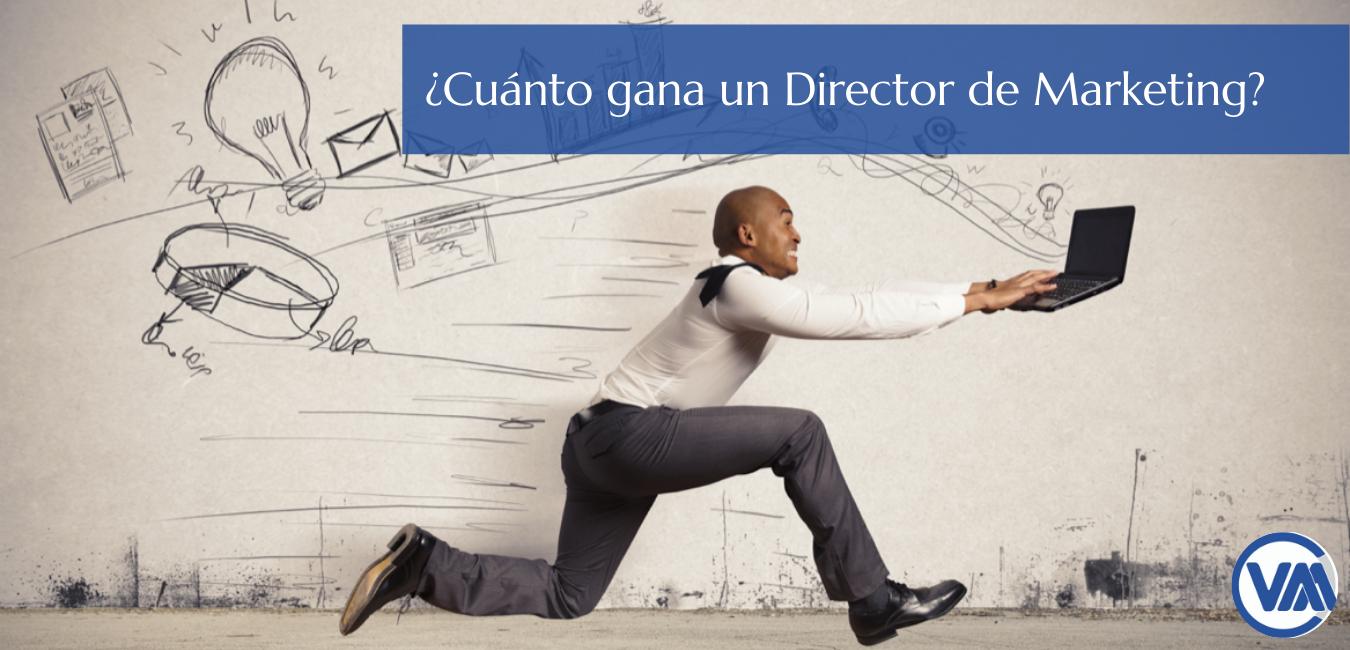 ¿Cuanto gana un Director de Marketing web