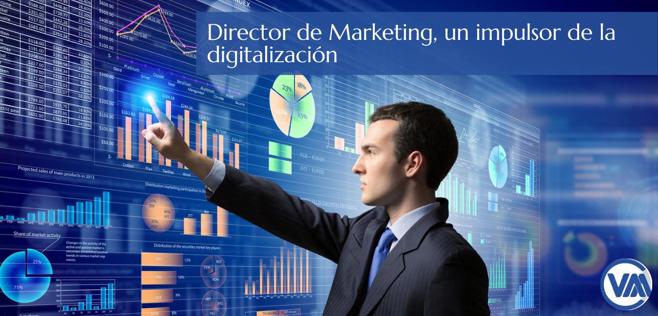 Director de Marketing, un impulsor de la digitalización web