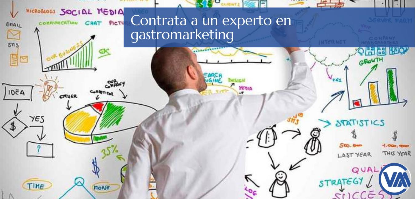 Contrata un experto en gastromarketing . Carlos Valdivieso