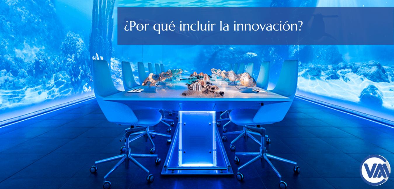 ¿Porqué incluir la innovación?