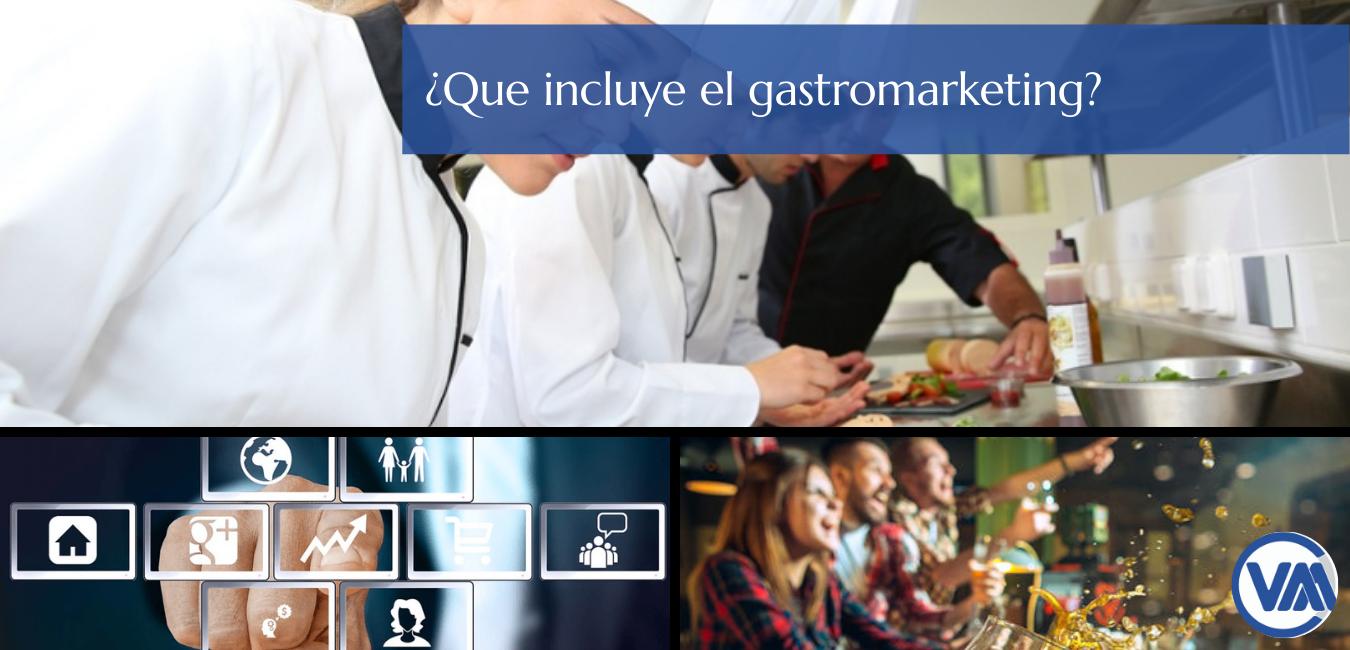 ¿Qué se incluye en el Gastromarketing ?